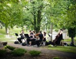 Outdoor Performance at Allegheny Cemetary