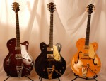 Three Gretsches