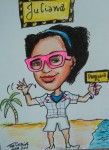 Juliana -Gift Caricature