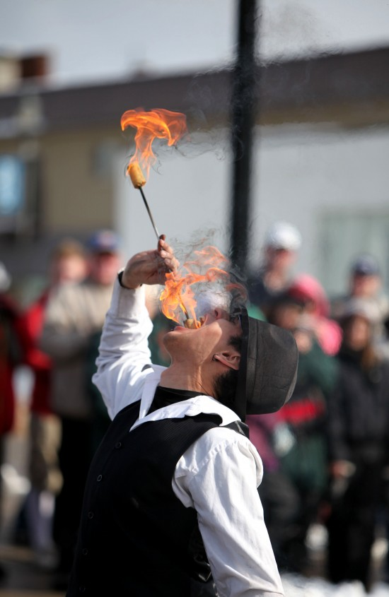 Fire Eating in Napanee