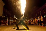 MIdnight Madness Fire Breathing in Bracebridge