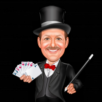 Terry Terrific - Strolling/Close-up Magician in New London, Connecticut