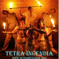 Tetra Incendia Fire Troop - Stilt Walker in Lawrence, Kansas