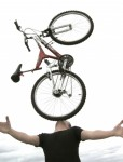 Bicycle Chin Balancing