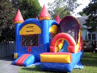 The Blue Bounce House