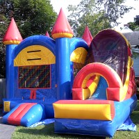 The Blue Bounce House - Bounce Rides Rentals in Poughkeepsie, New York