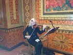 Our Solo Violinist at the Russian Tea Room