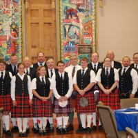 The City of McPherson Pipe Band - Bagpiper in Newton, Kansas