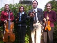 The Deming String Quartet - Cellist in Hyde Park, New York