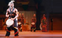 Djoniba Dance & Drum Entertainment Company - Fire Eater in Reading, Pennsylvania