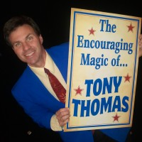 The Encouraging Magic of Tony Thomas - Illusionist in Raleigh, North Carolina
