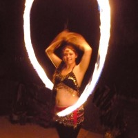 The Fire Dancer - Dance in Perris, California