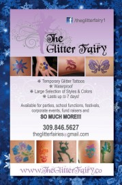 The Glitter Fairy - Temporary Glitter Tattoos