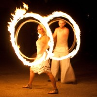 The Gyronauts - Fire Dancer in Manhattan, New York