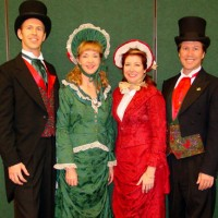 The Jingle Singers - Christmas Carolers in Santa Ana, California