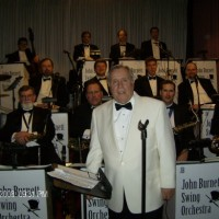 The John Burnett Orchestra - Gregory Peck Impersonator in ,