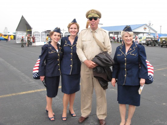 LfL at WWII Weekend, Reading, PA with Mc Arthur lookalike