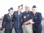 LfL-WWII Weekend, Reading, PA with Col. Bud Anderson, WWII Ace