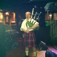 The Lone Piper - Bagpiper in Racine, Wisconsin