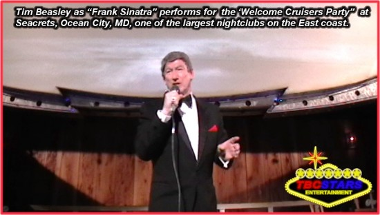 """Frank Sinatra"" at Seacrets, Ocean City MD"