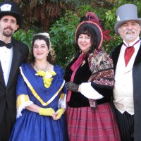 The Mistletoe Singers - Christmas Carolers in Salinas, California