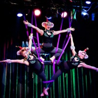 The Mystic Ponies - Aerialist in New Orleans, Louisiana