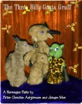 Three Billy-Goats Gruff puppets
