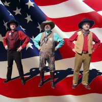 The OK Chorale Cowboy Trio - Reptile Show in Mesa, Arizona