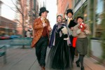 Original Dickens Carolers at Larmier Square