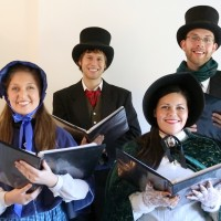 The Other Reindeer Carolers - Christmas Carolers in Culver City, California
