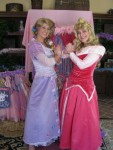 Sleeping Beauty princess party character orange county