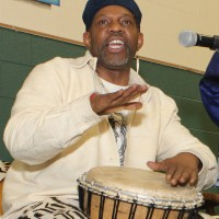 The Poetic Storyteller - Drum / Percussion Show in Brownsville, Texas