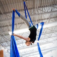 The Weird Sisters Circus - Acrobat in Flint, Michigan