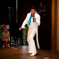 The King's Review - Elvis Impersonator in Starkville, Mississippi