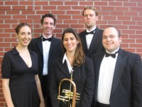 The Rachel Phillips Quintet - Brass Band in Newark, New Jersey