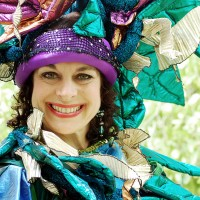 Therese Schorn - Stilt Walker in Harrison, New York
