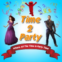 Time 2 Party - Face Painter in Costa Mesa, California
