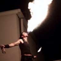 TimTv & The Secret Cirkus - Fire Dancer in Greenwood, South Carolina