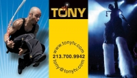 TonyTV - Fire Eater in Los Angeles, California