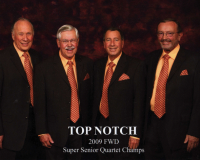 Top-Notch - Barbershop Quartet in Irvine, California