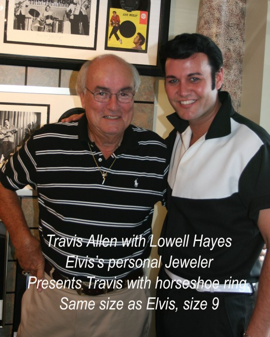 Lowell Hayes/Elvis's personal jeweler