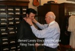 Bernard Lansky/Elvis's first tailor with Travis Allen