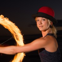 Tressa En Abundancia - Fire Performer in Austin, Texas