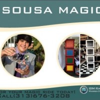 Tyler Sousa Magic - Illusionist in Adrian, Michigan