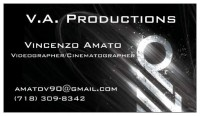 V.A. Productions - Videographer in Manhattan, New York