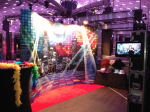 Disco Backdrop and PHoto Booth