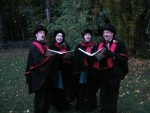 The Fireside Carolers Outdoor Garb