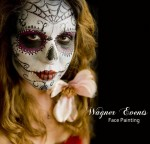 Wagner Events face and body painting - Sugar Skull