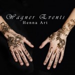 Henna bridal hands