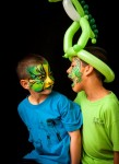 boys face paint